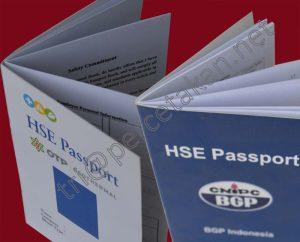 Contoh Buku HSE Passport
