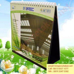 Desain dan Cetak Kalender Ecoroof dari percetakan Duta Pariwara