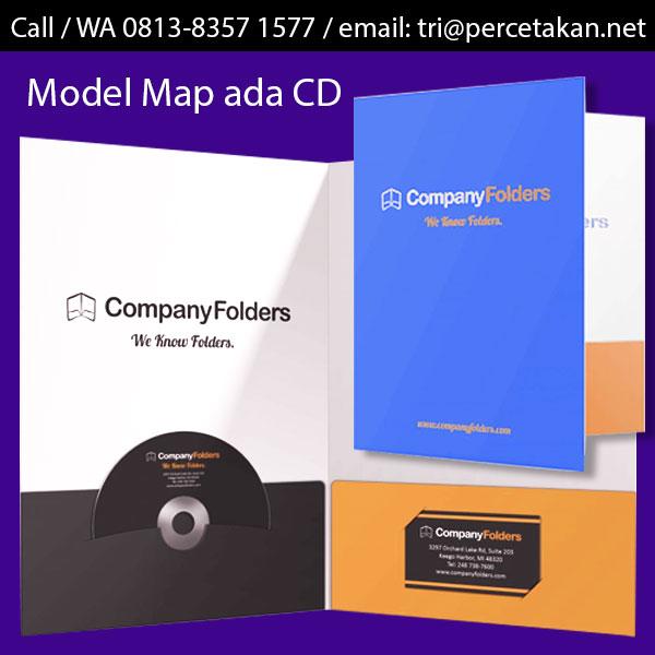 Map Folder Kantong CD