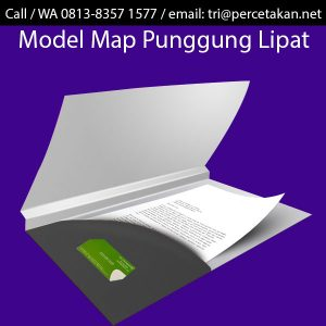Map Folder model Punggung