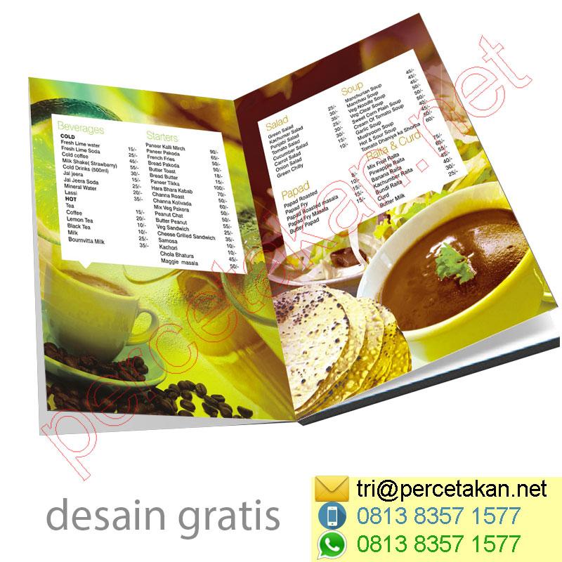 Cetak Brosur Restoran