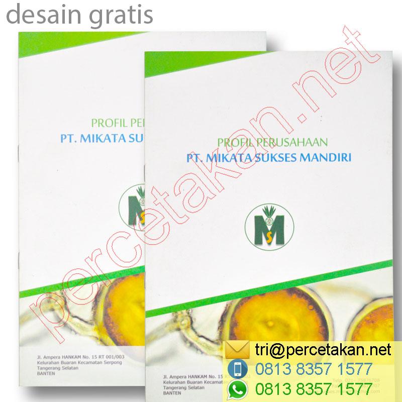Desain Cover Booklet