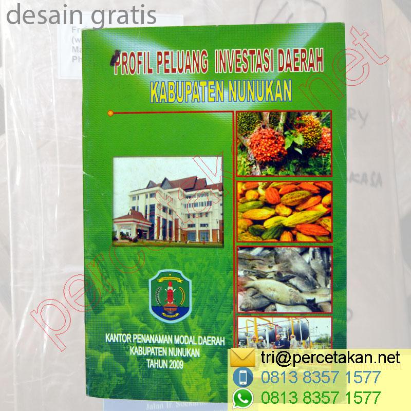 Contoh Cover Booklet Profile Investasi