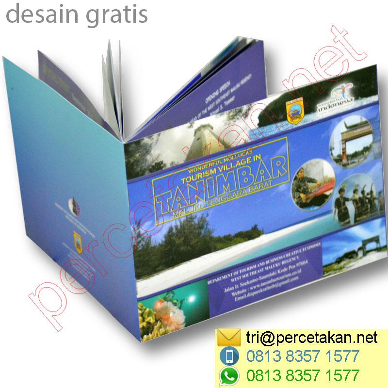 Jumlah Halaman Booklet
