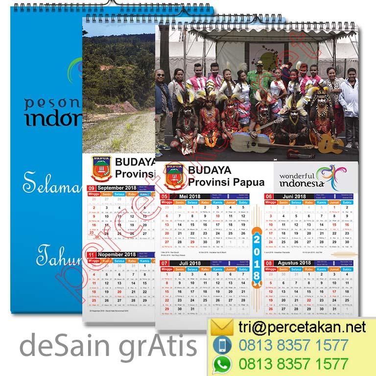 Percetakan Kalender Dinding 1
