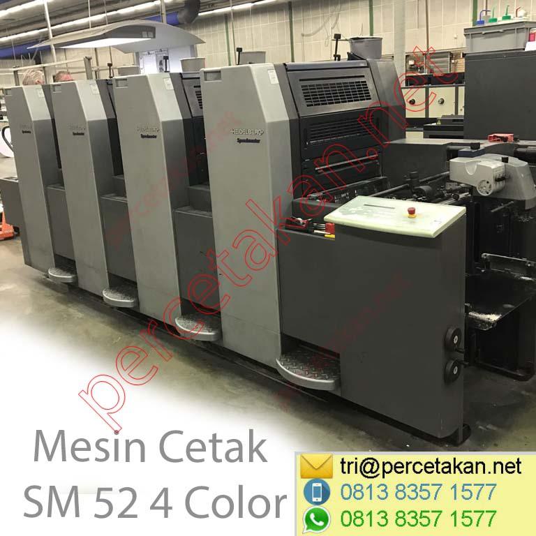Mesin Cetak SM 52 4 Color