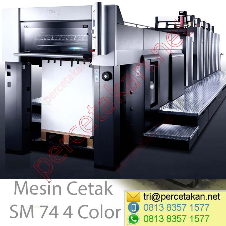 Mesin Cetak SM 74 4 Color