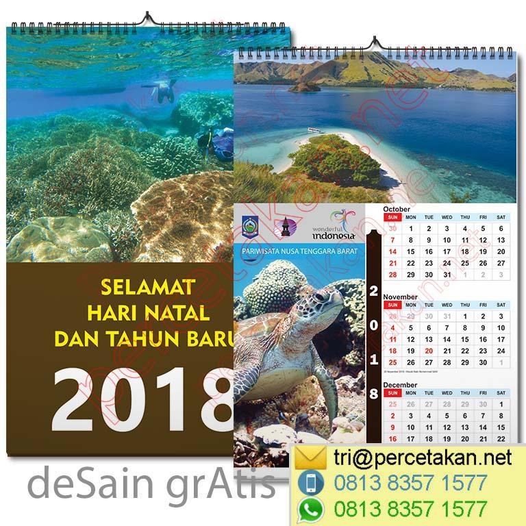 Contoh Kalender 3 bulanan - CV Duta Pariwara - Jakarta