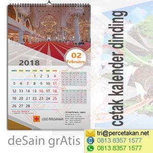 Kalender Dinding Religy 3