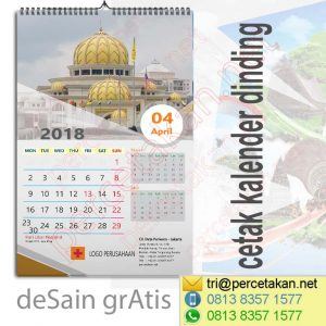 Kalender Dinding Religy 1