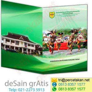 Contoh Map Kabupaten Gunung Mas