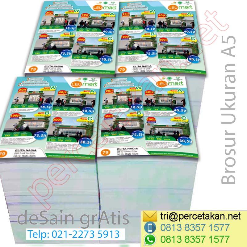 Contoh Brosur Marketing Property b