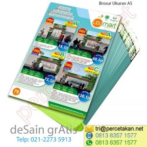 Contoh Brosur Marketing Property