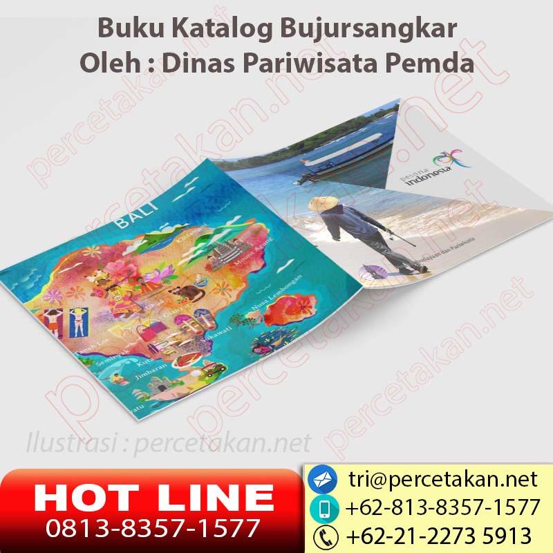 Desain dan cetak katalog wisata 2