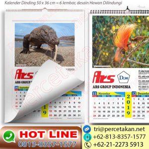 Kalender Burung Cendrawasih