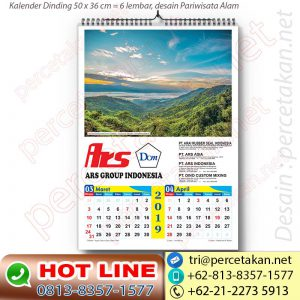 Parisata Papua dalam kalender