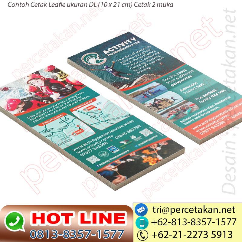 Percetakan Leaflet