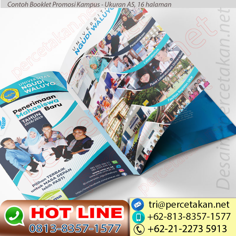 Booklet Promosi Kampus 16 Hal