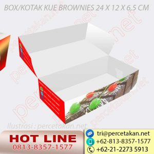 Box Kue Brownies