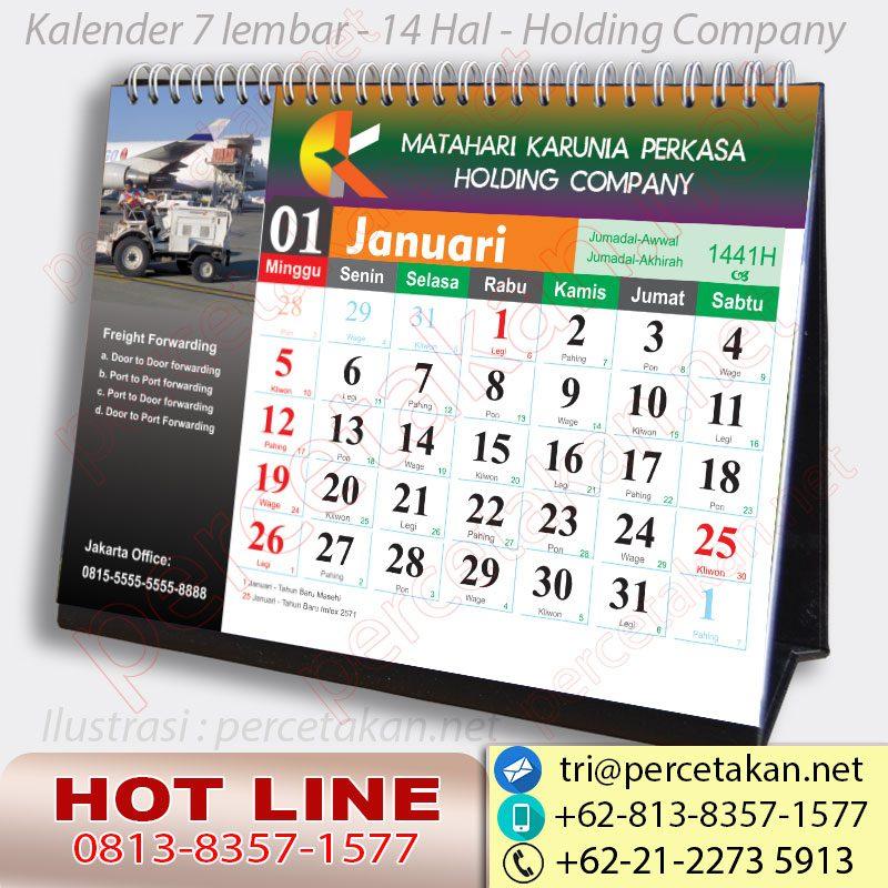 Kalender Untuk Holding Company